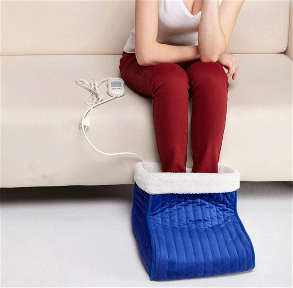 FFJTS Blaue Safe und Comfort Fußwärmer