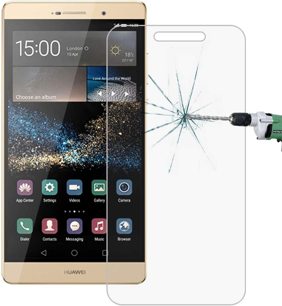 Tangyongjiao Solid Phone Screen Protectors 50 PCS for Huawei P8 0.26mm 9H Surface Hardness 2.5D Explosion-Proof Tempered Glass Film No Retail Package