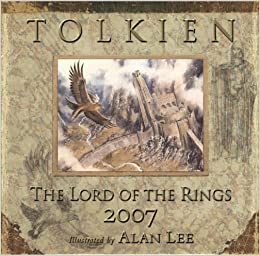 tolkien the lord of the rings calendar 2007