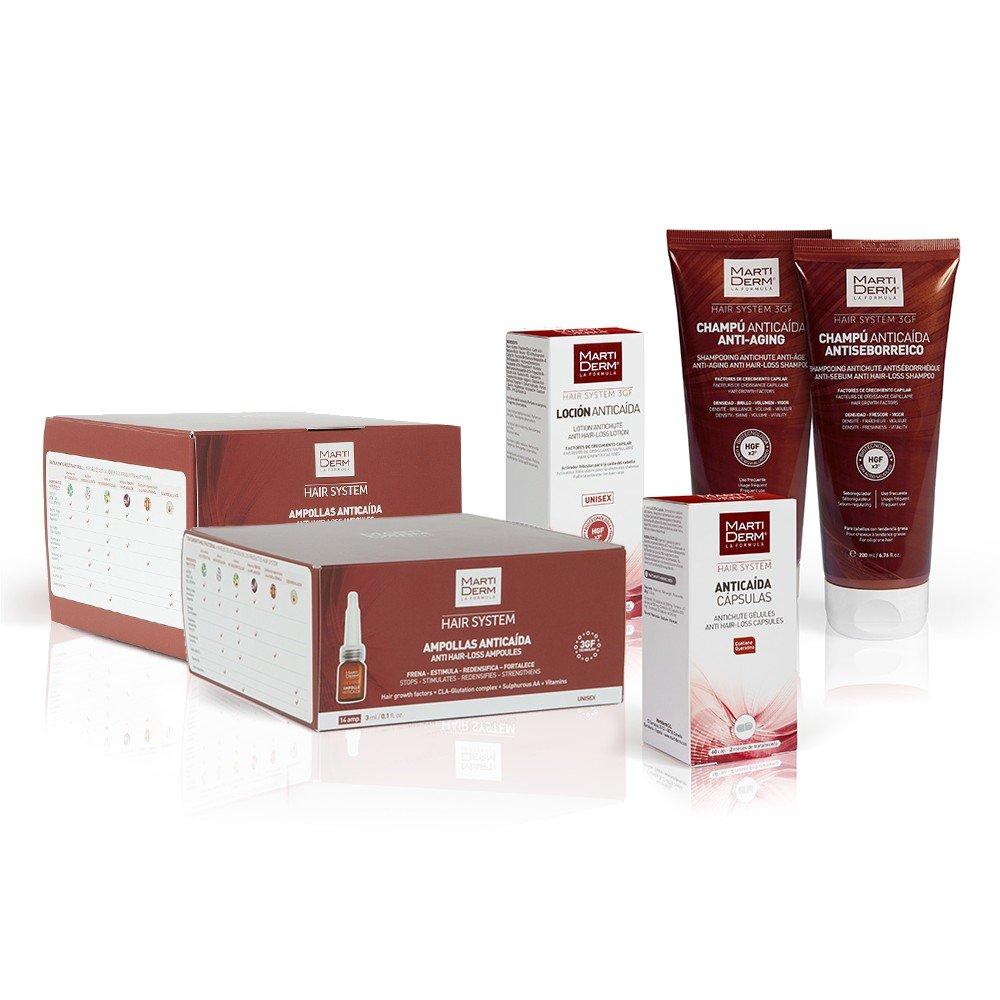 Amazon.com : Martiderm Anti-sebum Anti Hair-loss Shampoo ...