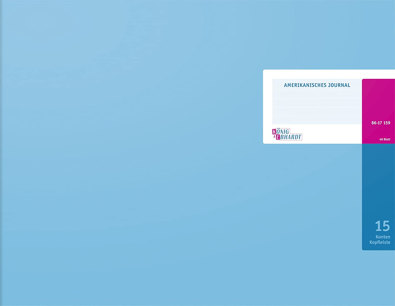 Konig & Ebhardt 8617701-8320K48KL - Libreta 530 48 x 332 mm, 48 530 hojas, color azul 906f0a