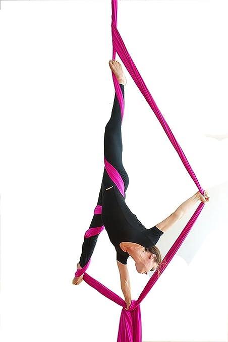 10 Metros Yoga DIY equipo el yoga antigravedad Hamaca Correa ...