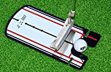 Golf Putting Alignment Mirror Training Aid with Carrying Case