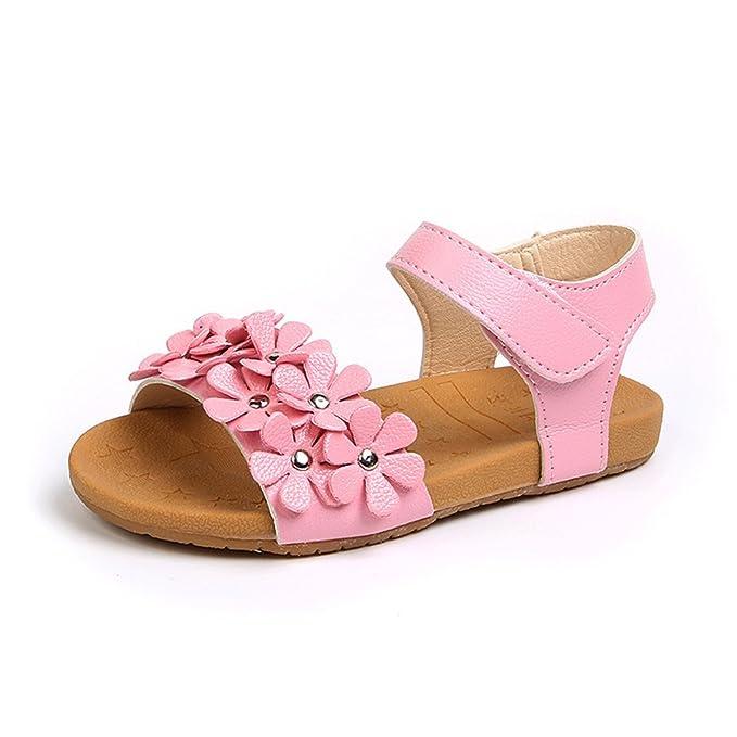Para Flores Niños Zapatos Chicas Sandalias Hermosas Princesa sCtdrhQ