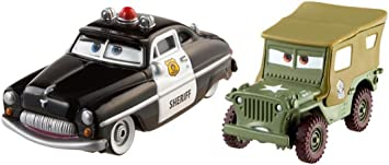 Mattel Cars - Pack 2 Coches Cars - Sheriff y Sarge: Amazon.es ...