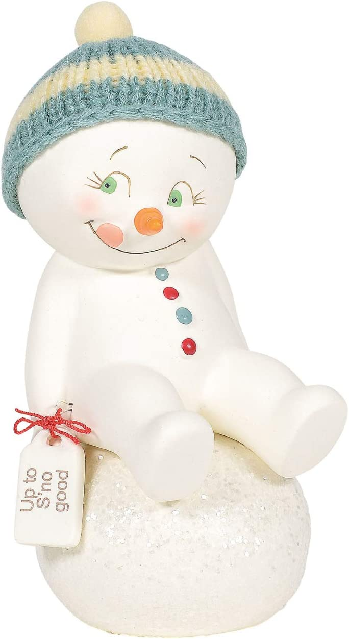 Department 56 Snowpinions Up to SNo Good Figurine 6 Inch Multicolor