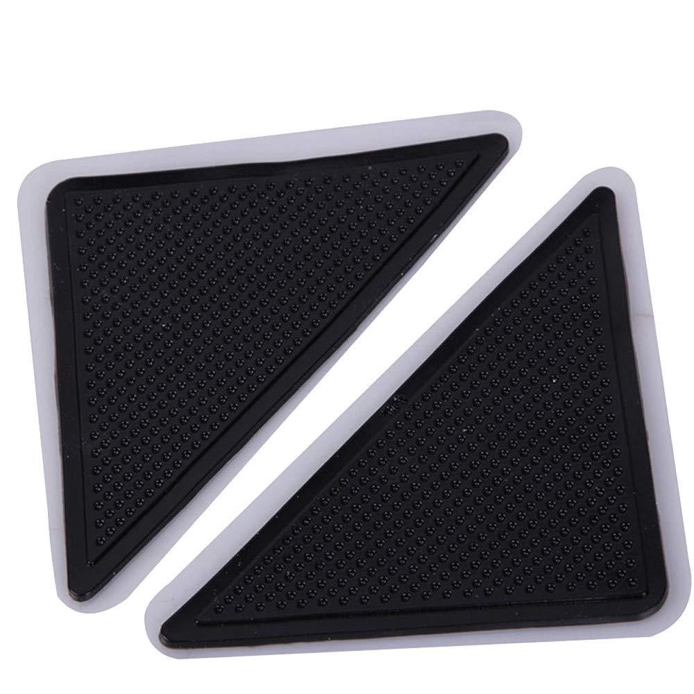 iLUGU 4 X Carpet Pad Non Slip Tri Sticker Anti Slip Mat Pads Anti Slip