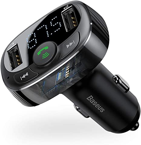 Stereo Digital Wireless USB Charger FM transmitter for iPhone Car Speaker Audio