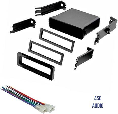 ASC - Kit de Bolsillo para instalación de Tablero estéreo de Coche ...