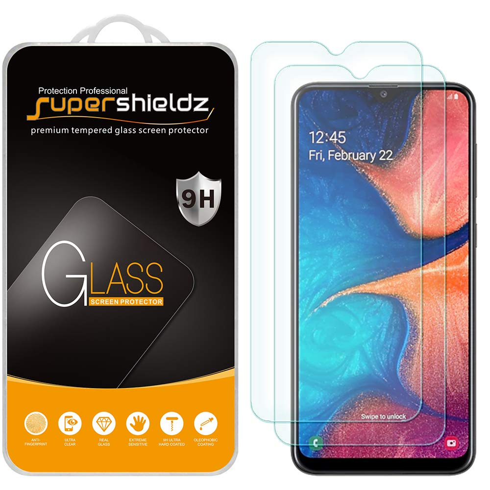 Vidrio Templado Samsung A20 [2un.] SUPERSHIELDZ
