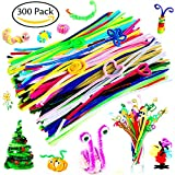 Toys : 300 Pcs Pipe Cleaners - Craft Supplies Chenille Stem by BellaBetty (6 mm x 12 Inch, Assorted Colors)