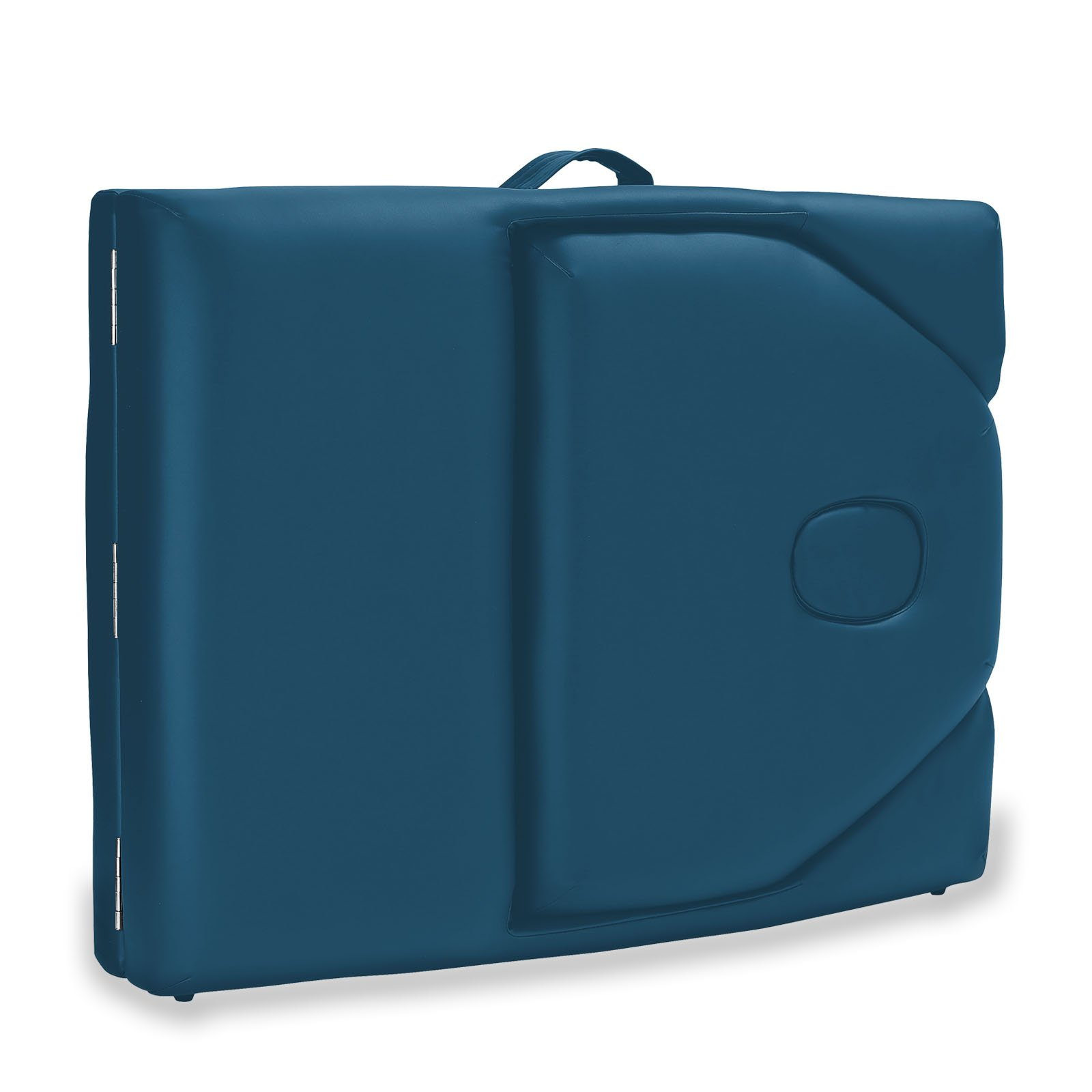 Saloniture Professional Portable Massage Table with Backrest - Blue by Saloniture (Image #5)