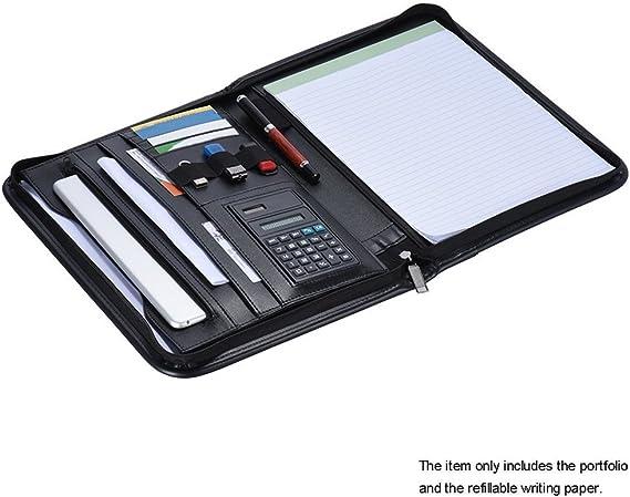 LOHONER Briefcase Document Ticket Storage Bag Large Capacity Lock Design File Organizer Family Travel