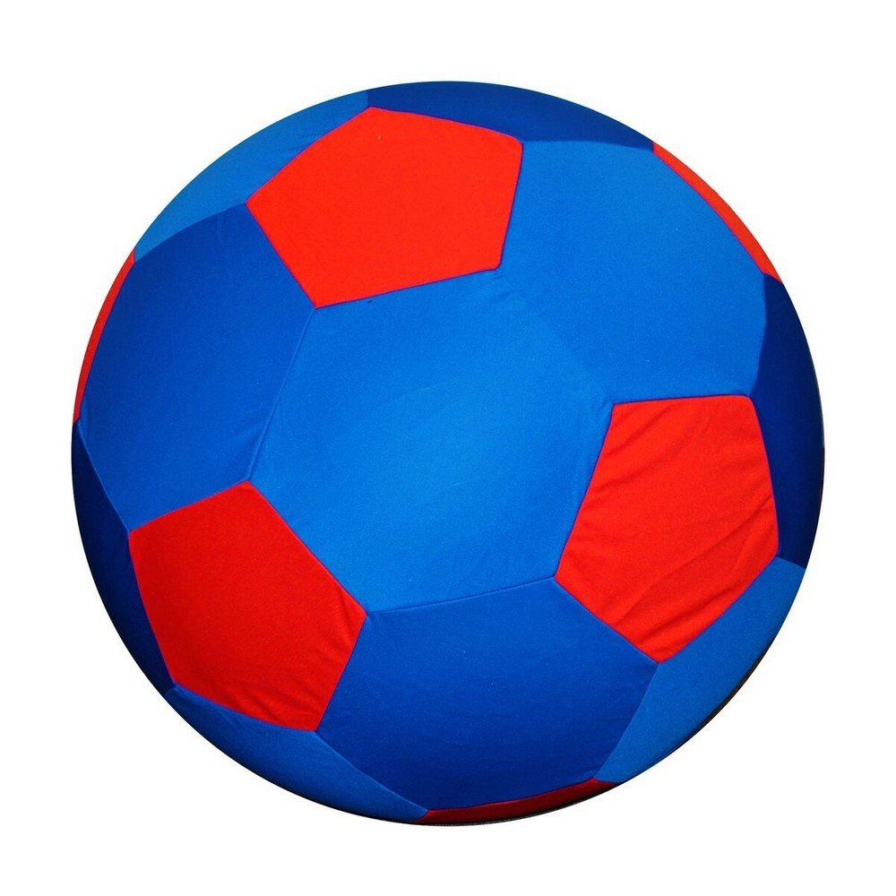 Horsemen's Pride Jolly Mega Ball Cover 25 Beach Ball (40 inches) (Soccer Ball Blue)