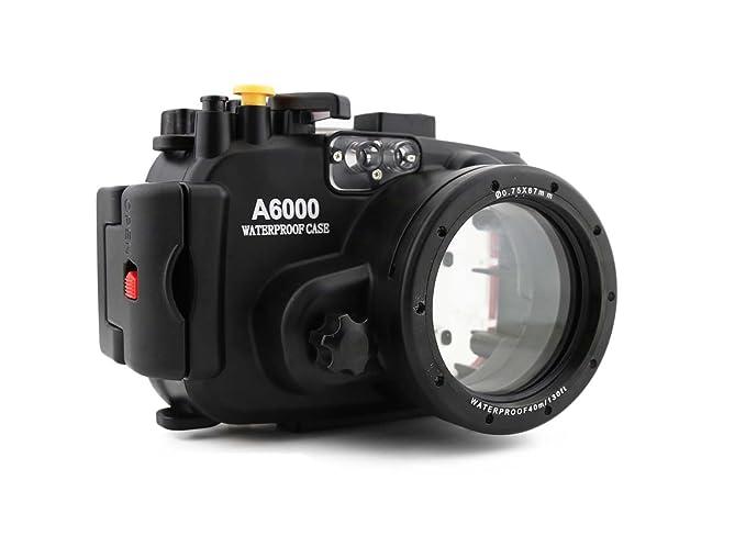 carcasa submarina para cámara SONY A6000 - Carcasa acuática para cámaras