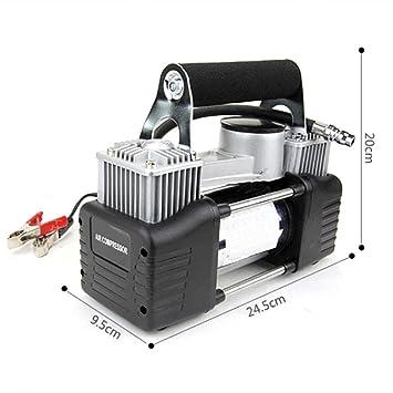 LPY-Bomba infladora portátil para neumáticos con compresor de aire, trabajo pesado, 12V 300PSI.: Amazon.es: Deportes y aire libre