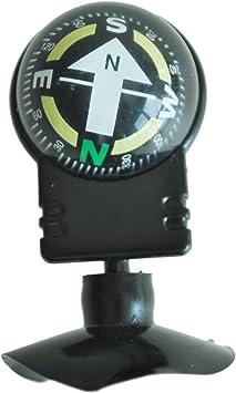 Car Boat Compass Rotate 90 ° Dashboard Self-adhesive Black Magnetic Navigation