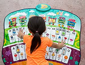Plush Home Touch and Learn Play Mat, Ideal For Ages +3 Years Old, Mat Plays 6 Popular Melodies And 5 Educational Activities