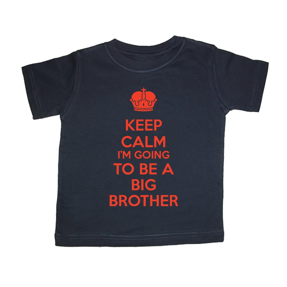 Keep Calm Im Going To Be A Big Brother Navy Blue T-Shirt So Relative
