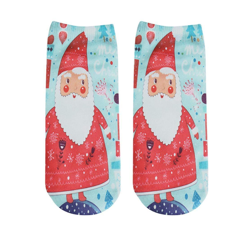 FORUU Womens Winter Christmas Gift Warm Soft Cotton Socks