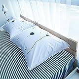 BuLuTu Cotton Bed Pillowcases Set of 2 Standard