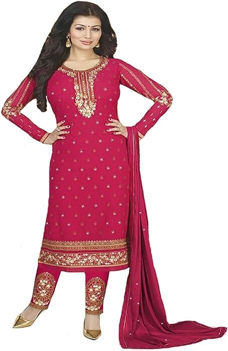 fead697a06047 Ayesha Takiya Bollywood Salwar Kameez suit Indian Ethnic Women Ceremony  wedding Bridal 8804 at Amazon Women s Clothing store