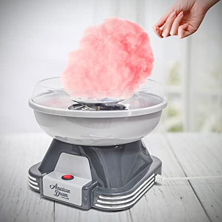 Balvi Máquina algodón azúcar American Dream Tiene un diseño Compacto y es Muy fácil de Usar Plástico: Amazon.es