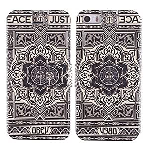 Big Flower Design PU Phones Full Body Case with Card Slot For Case Iphone 6Plus 5.5inch Cover by icecream design