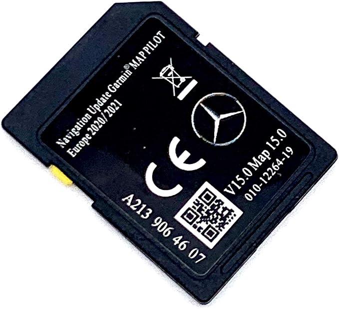 Tarjeta SD 2020/2021 para Mercedes-Benz Garmin Map Pilot SD Card V14 2020/2021 Cover All Europe, A2139064507: Amazon.es: Electrónica