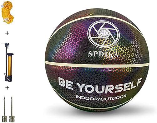 Donpow HoloHoops Baloncesto Reflectante holográfico Que Brilla ...