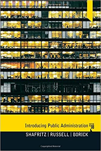 Introducing public administration jay m shafritz e w russell introducing public administration 8th edition fandeluxe Images