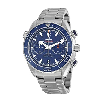 226c03f8ca78c Image Unavailable. Image not available for. Color  Omega Seamaster Planet  Ocean Chronograph Mens Watch ...