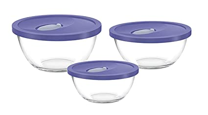 Marvelous Buy Treo Mixing Bowl Set With Lid 3Pcs 1 5 Ltr 1 Ltr 0 5 Onthecornerstone Fun Painted Chair Ideas Images Onthecornerstoneorg