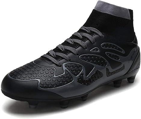 DREAM PAIRS Chaussures de Football /à Crampons de Football pour gar/çons Filles