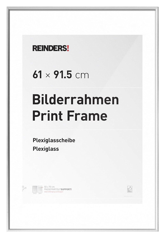Amazon.de: REINDERS Bilderrahmen für Maxi-Poster 61x91, 5cm Kunstoff ...
