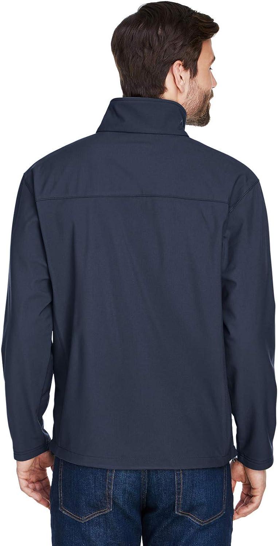 UltraClub Mens Water Resistant Elastic Drawstring Rip Shell Jacket