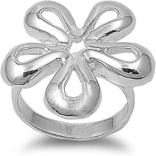 Princess Kylie 925 Sterling Silver Simple Basic Skull Ring