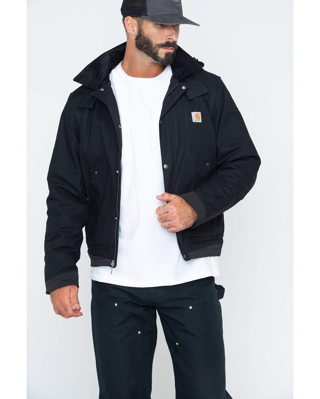 Carhartt Men's Full Swing Steel Jacket, Black, Medium by Carhartt