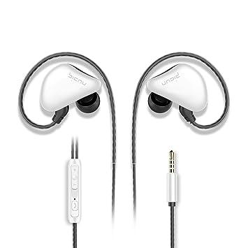 Picun S6 Auriculares deportivos, auriculares con microfono y ...