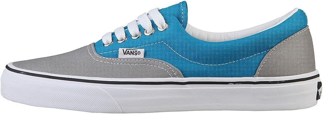 vans bleu turquoise grise