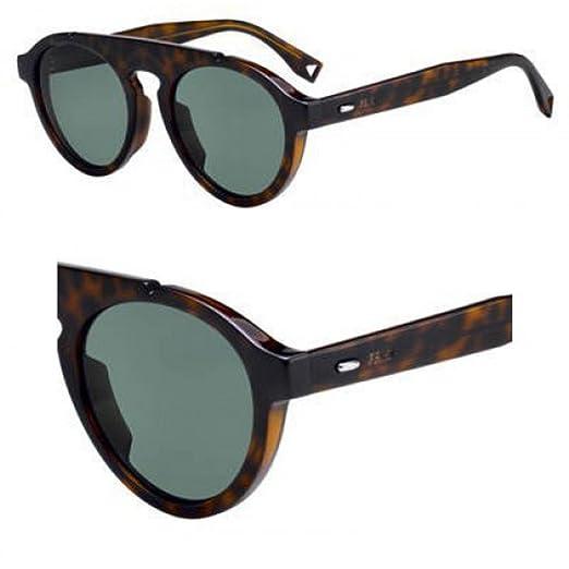 Gafas de Sol Fendi FENDI ANGLE FF M0013/S DARK HAVANA/GREEN ...