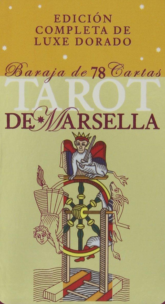 Tarot de Marsella: Edición Completa de Luxe Dorado, Baraja ...