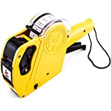 8 Digits Price Numerical Tag Gun Label Maker MX5500 EOS with Sticker Labels & Ink Refill for Office, Retail Shop, Grocery Sto