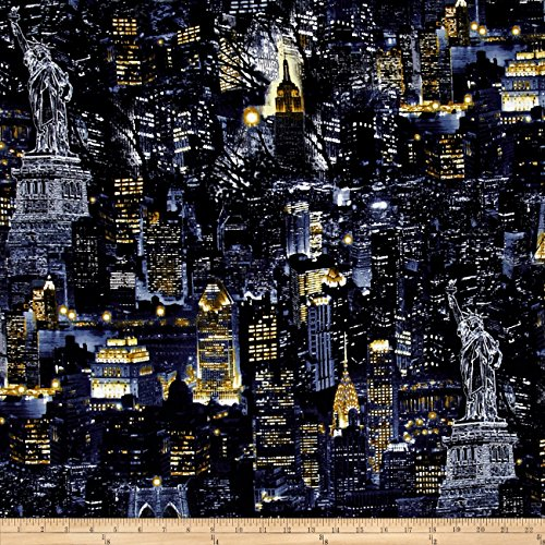 new york city fabric - 1