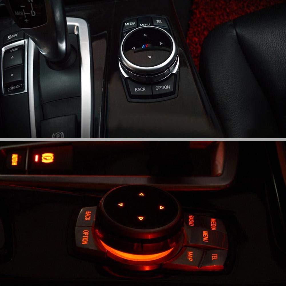 E61 F30 X5 F18 per console centrale auto E90 F25 per X1 E60 F10 X6 X3 Copertura per pulsanti multimediali