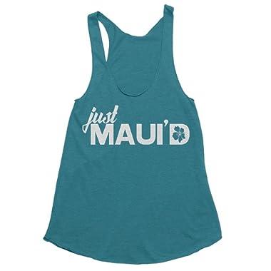 Spunky Pineapple Premium - Just Maui'd Hawaii Maui Honeymoon Tank Top