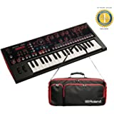 Roland JD-Xi 37-key Analog/Digital Crossover Synthesizer & CB-JDXi Carrg Bag Bundle with 1 Year Free Extended Warranty