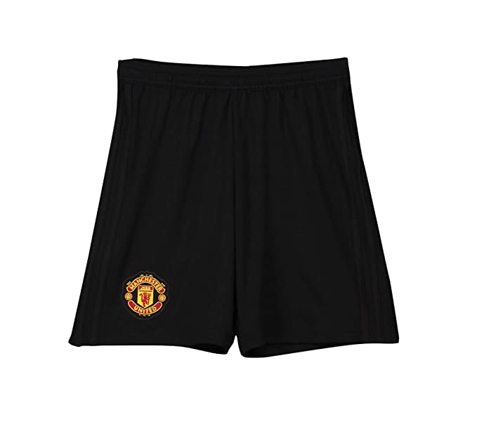 Manchester United FC Official Football Gift Boys Home Kit Shorts 2018 2019