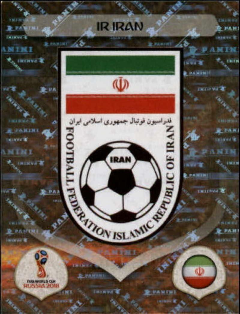 Emblem Iran Sticker 172 Panini WM 2018 World Cup Russia Iran
