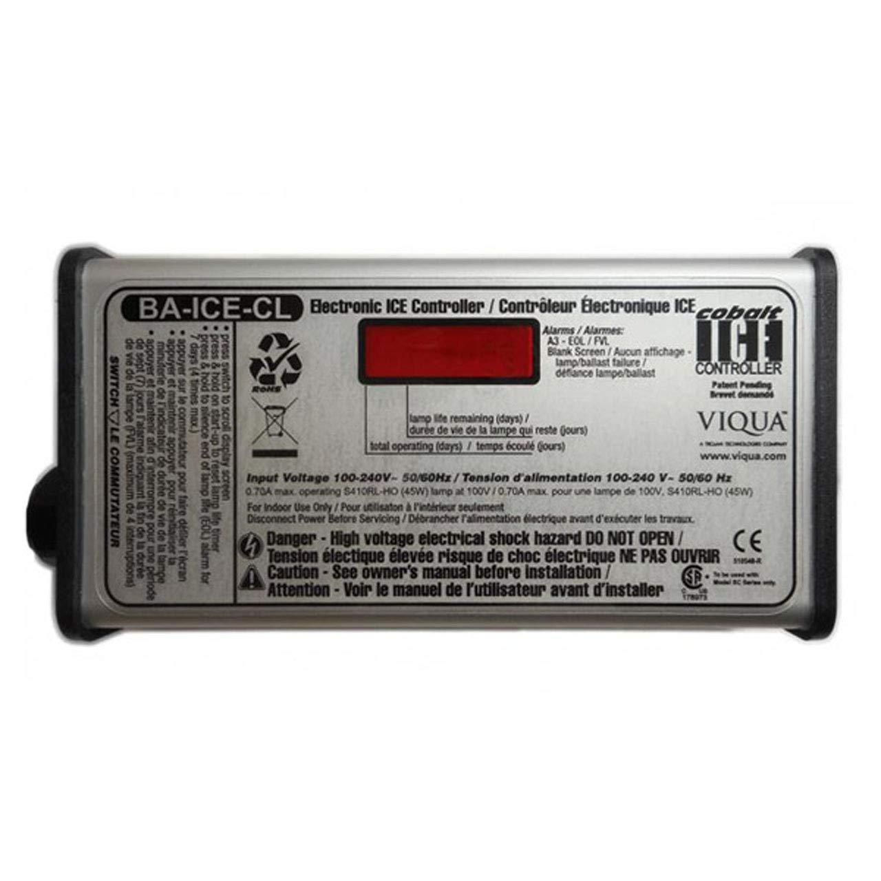 Genuine Viqua BA-ICE-C/CL/S/SO Replacement Ballast Controller Kit 100-250V for SQ-OZ / S8Q-OZ/SQ-PA SERIES / VH200 / VH410 / SC-200/320 / VP600 / VP950 / SC-600/740. (Viqua BA-ICE-CL)